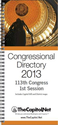 Congressional Directory 2013