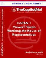 C-SPAN 1 Viewer's Guide: Making Sense of Watching the House of Representatives, Audio Course on CD