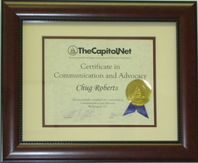 Certificate in Communication and Advocacy