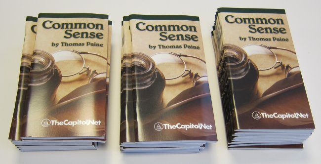 Common Sense (Pamphlet) Pocket Edition  By Thomas Paine